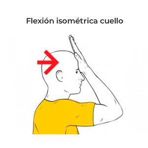 flexion cuello
